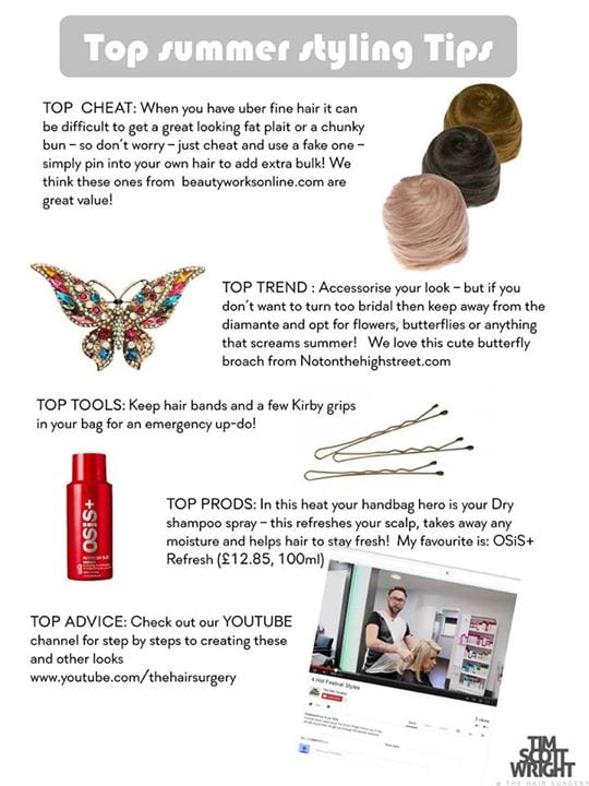 Summer Up-Do's Page 3
