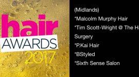 Hair Magazine – Hair Awards 2017