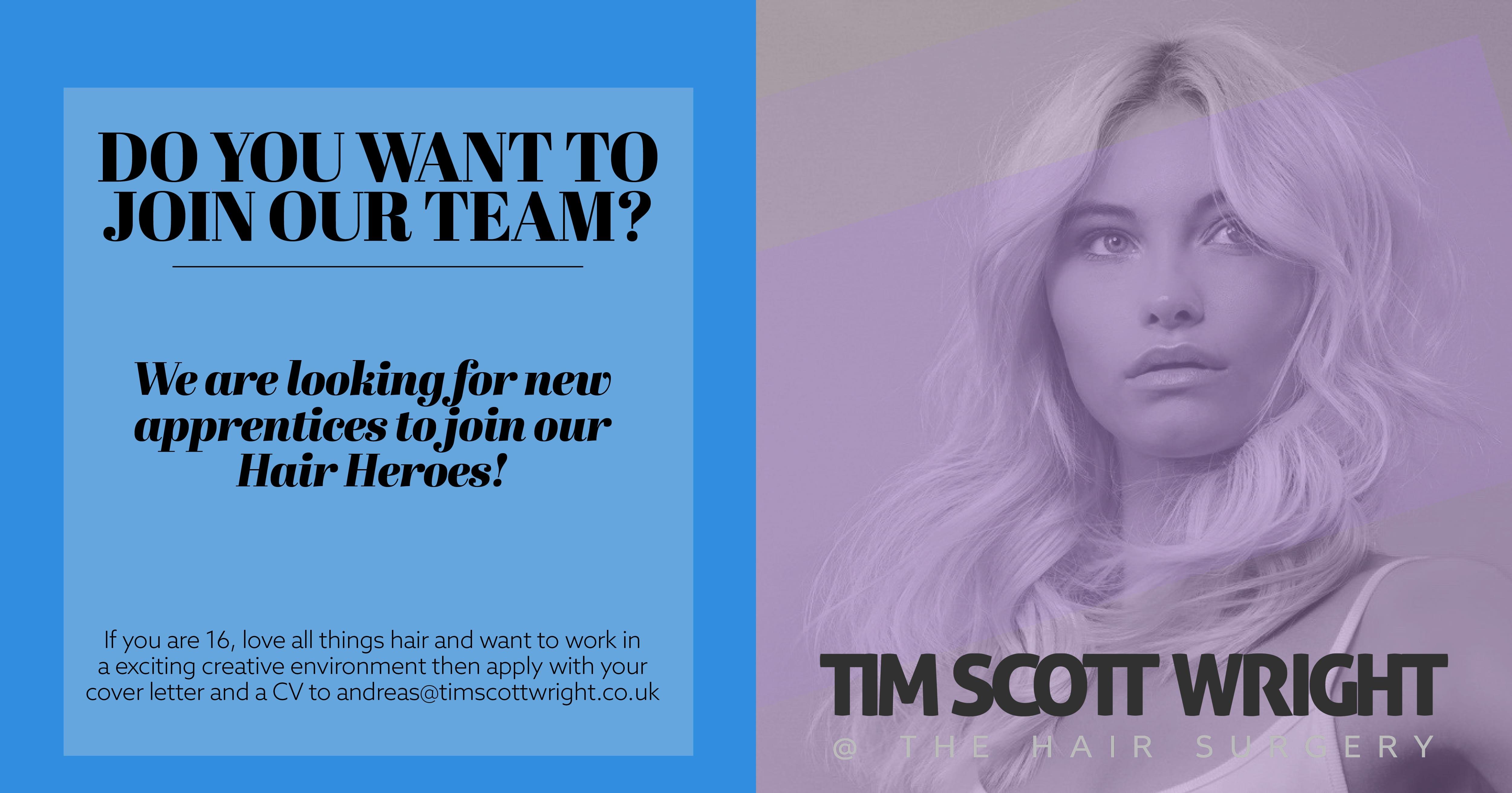 Tim Scott,Wright , Award Winning Hair Stylist , TimScott